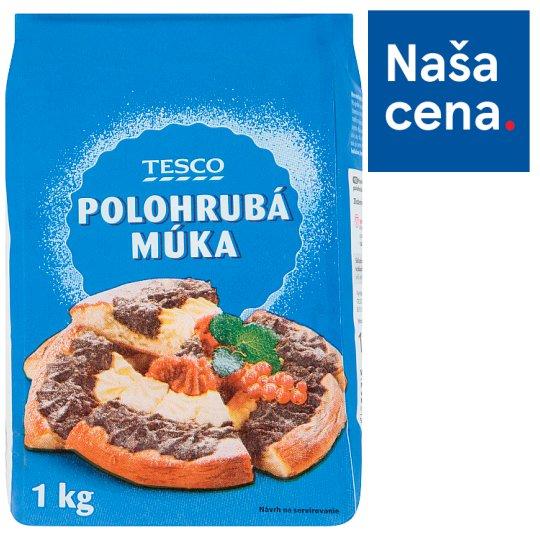 Tesco Selection Semi Coarse Wheat Flour 1 kg