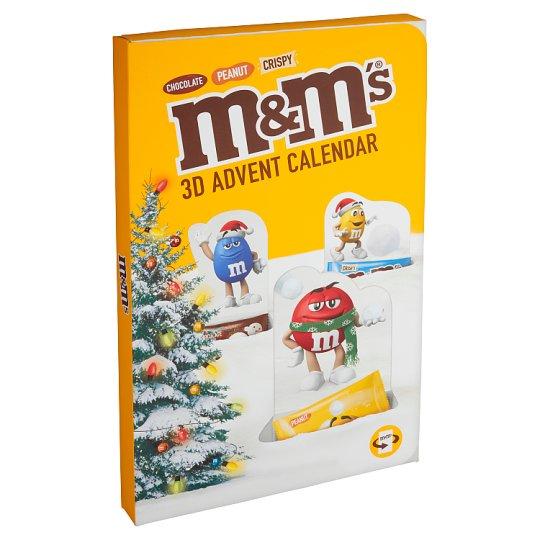 M&M's 3D adventný kalendár 346 g