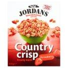 Jordans Country Crisp Chrumkavé obilné vločky s lyofilizovanými jahodami 400 g