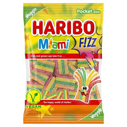 Haribo Fizz Miami želé s ovocnými príchuťami 85 g