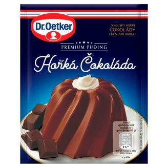 Dr. Oetker Premium Puding Horká čokoláda 52 g