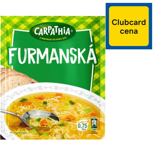CARPATHIA Carrier's Soup Pocket 49 g