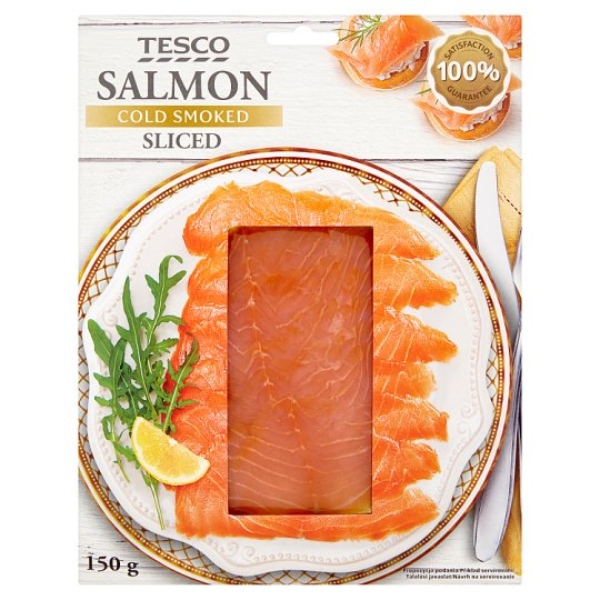 Tesco Salmon Cold Smoked Sliced 150 g