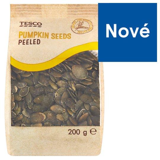 Tesco Pumpkin Seeds Peeled 200 g