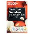 Tesco Sliced Tomatoes with Olive Oil and Garlic in Tomato Juice 390 g