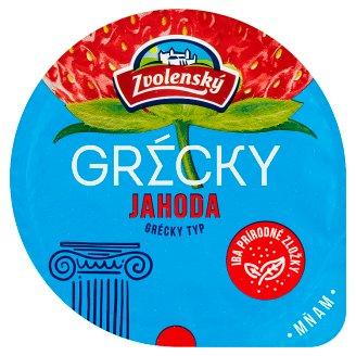 Zvolenský Yoghurt Greek Type Strawberry 125 g