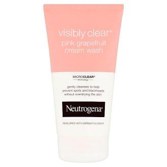 Neutrogena Visibly Clear Pink Grapefruit krémová čistiaca emulzia 150 ml
