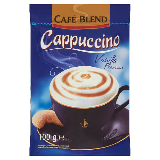 Café Blend Cappucino Instant Drink with Vanilla Flavour 100 g