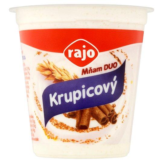 Rajo Mňam Duo Creamy Yoghurt Semolina-Cinnamon 145 g