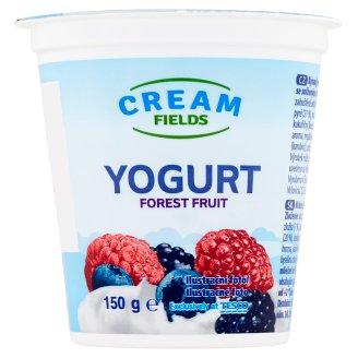 Cream Fields Jogurt so zníženým množstvom tuku s príchuťou lesného ovocia 150 g