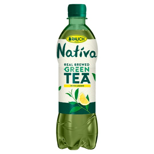 Rauch Nativa Green Tea Lemon 0.5 L