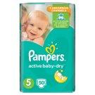 Pampers Active Baby-Dry Veľkosť 5, 50 Detské Jednorazové Plienky