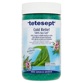 Tetesept Cold Relief 100 % Sea Salt 900 g