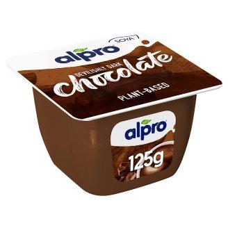 Alpro Dark Choco Soya Dessert with Chocolate Flavour 125 g