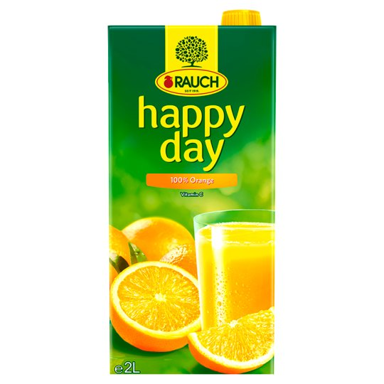 Rauch Happy Day Pomaranč 100% 2 l