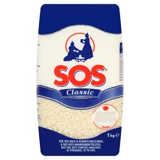 SOS Classic Medium Peeled Rice 1 kg