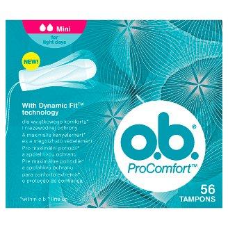 O.B.® ProComfort Tampóny Mini 56 ks