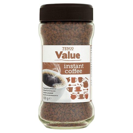 Tesco Value Instantná káva sušená granulovaná 100 g