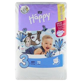 """Happy Baby Diapers """"3"""" á 72 pcs"""