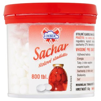 Imber Sachar stolové sladidlo bez kalórií 800 tbl. 50 g