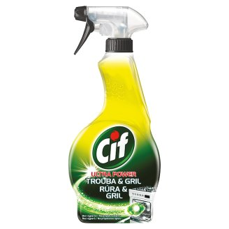 cif ultra power oven u0026 grill cleaner spray 500 ml