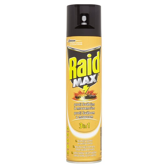 Raid Max Against Leaking Insects 400 ml