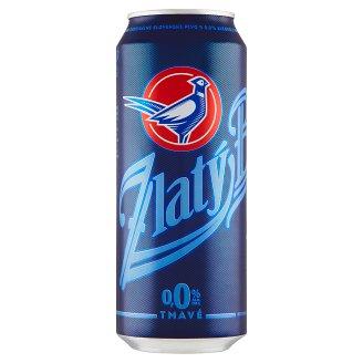 Zlatý Bažant 0,0% tmavé nealkoholické pivo 500 ml