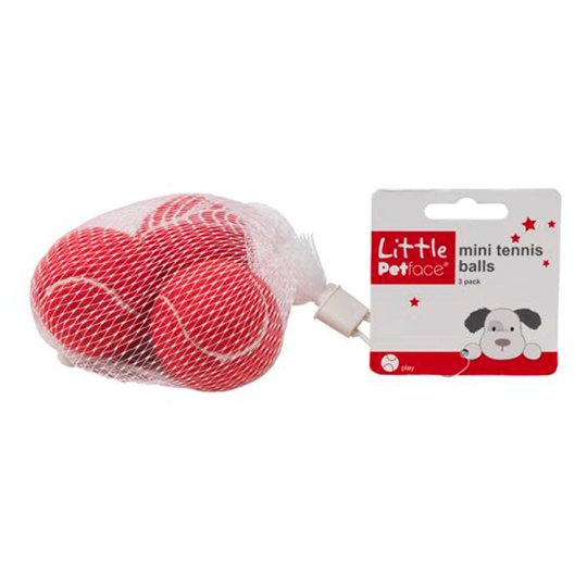 Little Petface Mini Tennis Balls 3 pcs