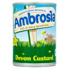 Ambrosia Fine Custard Cream Intended for Direct Consumption 400 g
