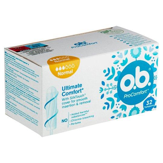 O.B.® ProComfort Tampóny Normal 32 ks