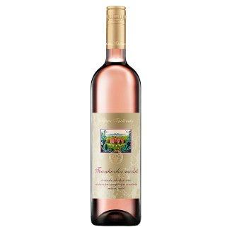 Château Topoľčianky Frankovka modrá slovenské akostné odrodové víno ružové suché 0,75 l