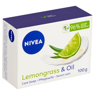 Nivea Lemongrass & Oil Ošetrujúce krémové mydlo 100 g