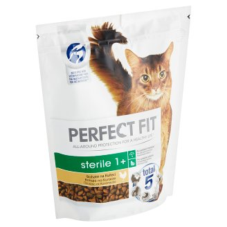 Perfect Fit Sterile 1+ Complete Food for Adult Cats Chicken 750 g