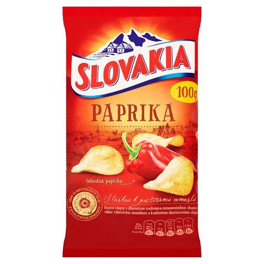 Slovakia Chips Paprika 100 g
