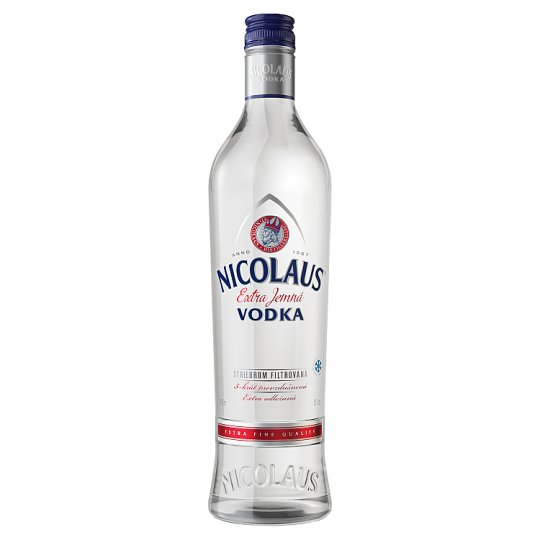 Nicolaus Extra jemná vodka 38% 1 l