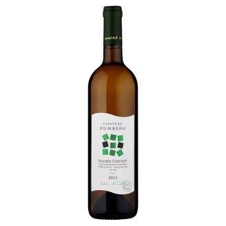 VPS Chateau Zumberg Tramín červený akostné odrodové víno biele 0,75 l