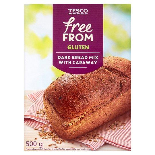 Tesco Free From Sypká zmes na prípravu bezgluténového tmavého chleba s rascou 500 g