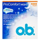O.B.® ProComfort Night Tampons Super 36 pcs