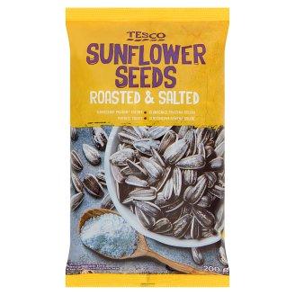 Tesco Slnečnicové semená solené 200 g