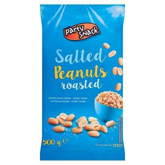 Party Snack Pražené solené lúpané arašidy 500 g