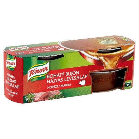 Knorr Bohatý Bujón Beef Broth 4 x 28 g