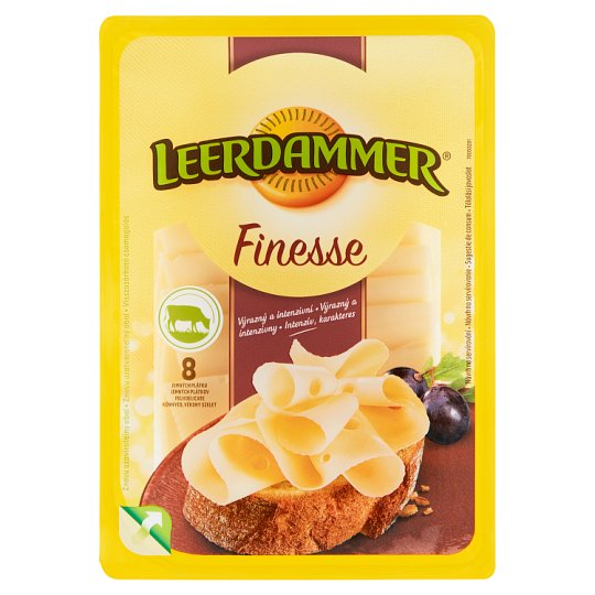 Leerdammer Finesse Caractère Cheese 8 Slices 80 g