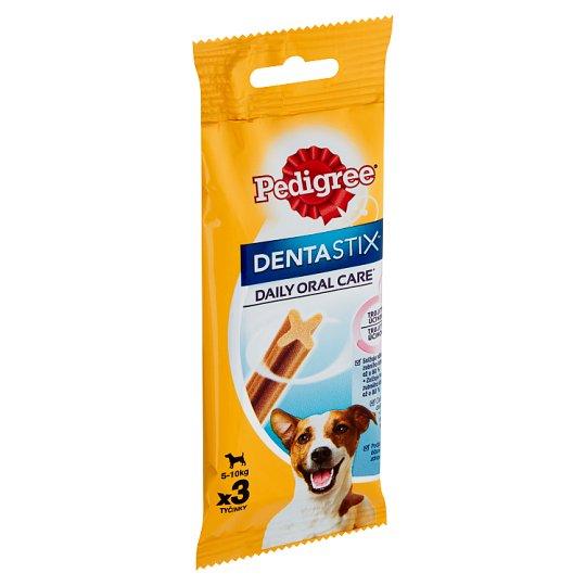 Pedigree DentaStix Doplnkové krmivo pre psy staršie ako 4 mesiace 3 ks 45 g