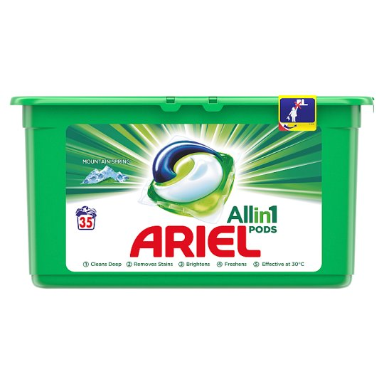 Ariel 3 v 1 Pods Mountain Spring Na 35 Praní