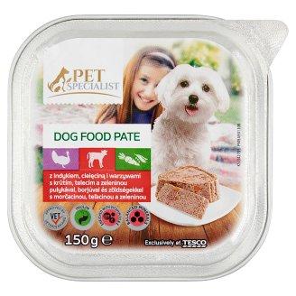 Tesco Pet Specialist Paštéta s morčacinou, teľacinou a zeleninou 150 g