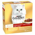 GOURMET Gold Multipack Pieces in Juice 8 x 85 g