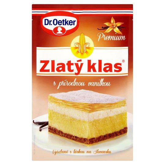 Dr. Oetker Zlatý klas Premium krémový prášok vanilkový 40 g