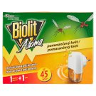 Biolit Aroma Electric Vaporizer with Fluid Charge of Orange Fragrance 27 ml