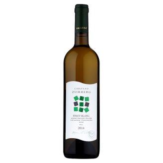 Pavelka Chateau Zumberg Pinot blanc akostné odrodové víno biele suché 0,75 l