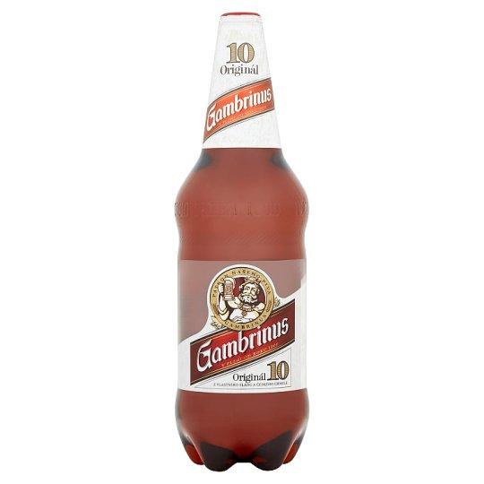 Gambrinus Original 10% Light Draft Beer 1.5 L